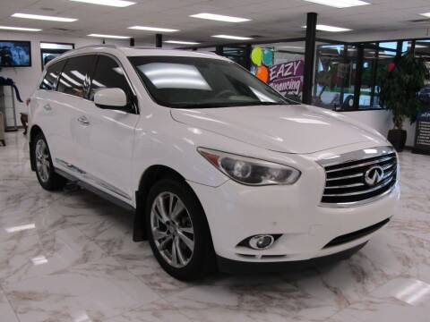 2013 Infiniti JX35 for sale at Dealer One Auto Credit in Oklahoma City OK