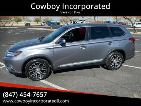 2017 Mitsubishi Outlander for sale at Cowboy Incorporated in Waukegan IL
