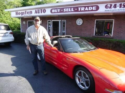 2003 Chevrolet Corvette for sale at HOGSTEN AUTO WHOLESALE in Ocala FL