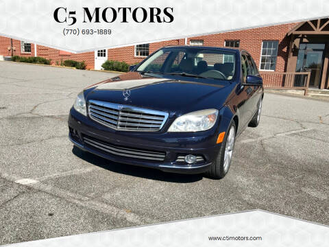 2010 Mercedes-Benz C-Class for sale at C5 Motors in Marietta GA