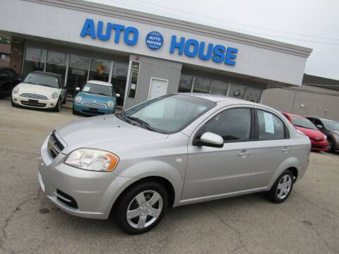 2008 Chevrolet Aveo for sale at Auto House Motors in Downers Grove IL