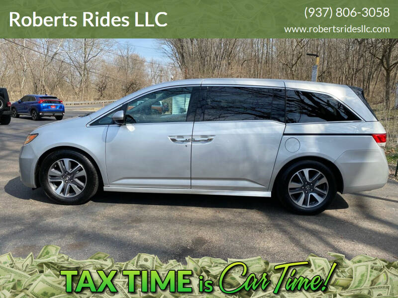 2014 Honda Odyssey for sale at Roberts Rides LLC in Franklin OH