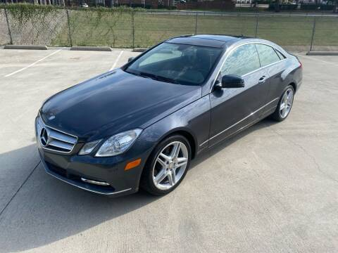 2013 Mercedes-Benz E-Class for sale at GT Auto in Lewisville TX