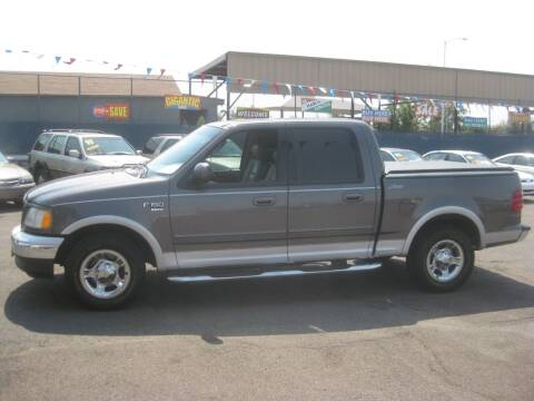 2002 Ford F-150 for sale at Town and Country Motors - 1702 East Van Buren Street in Phoenix AZ