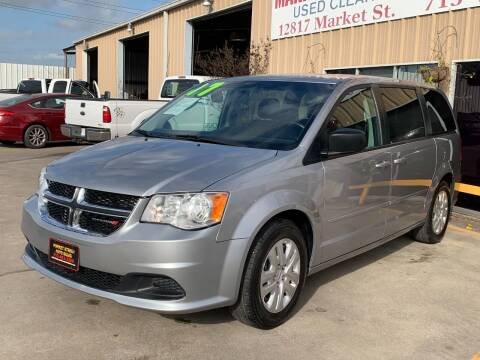 2017 Dodge Grand Caravan for sale at Market Street Auto Sales INC in Houston TX