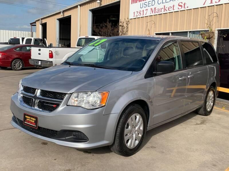 2017 Dodge Grand Caravan for sale at Market Street Auto Sales INC in Houston TX