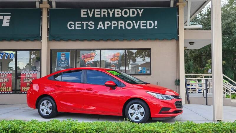 2017 Chevrolet Cruze for sale at Dunn-Rite Auto Group in Longwood FL
