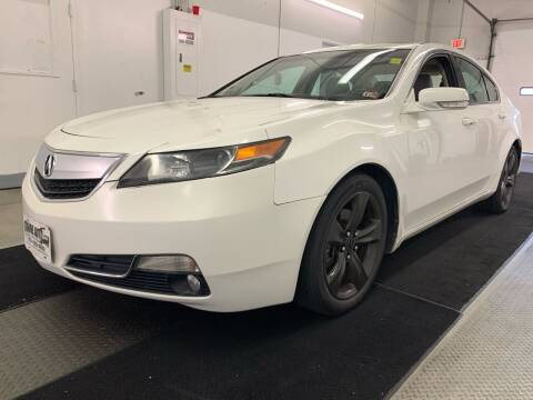 2012 Acura TL for sale at TOWNE AUTO BROKERS in Virginia Beach VA