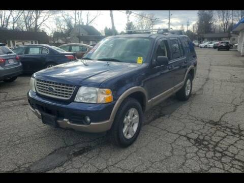 2003 Ford Explorer for sale at Colonial Motors in Mine Hill NJ