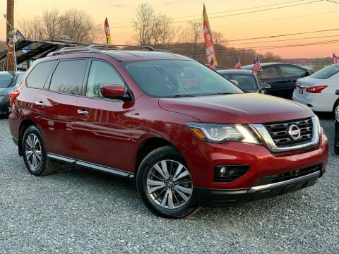 2018 Nissan Pathfinder for sale at A&M Auto Sales in Edgewood MD