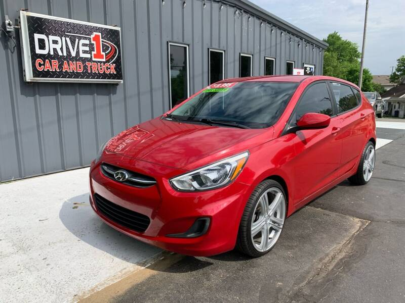 2016 Hyundai Accent for sale at Drive 1 Car & Truck in Springfield OH