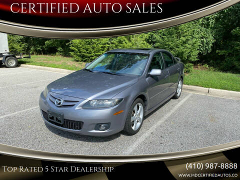 2006 Mazda MAZDA6 for sale at CERTIFIED AUTO SALES in Severn MD