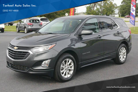 2018 Chevrolet Equinox for sale at Tarheel Auto Sales Inc. in Rocky Mount NC
