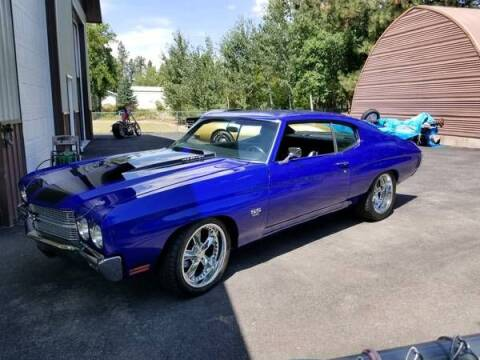 1970 Chevrolet Chevelle for sale at Classic Car Deals in Cadillac MI
