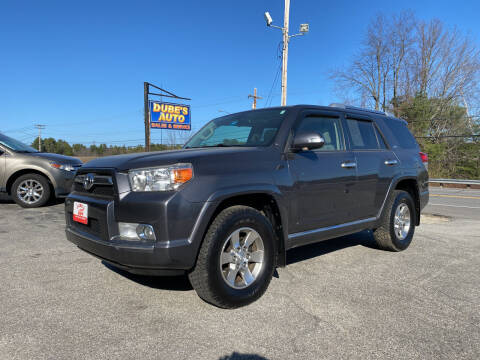 2013 Toyota 4Runner for sale at Dubes Auto Sales in Lewiston ME