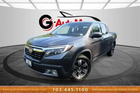 2017 Honda Ridgeline for sale at Guarantee Automaxx in Stafford VA
