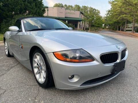 2003 BMW Z4 for sale at Triangle Motors Inc in Raleigh NC