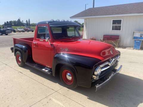 1955 Ford F-100 for sale at B & B Auto Sales in Brookings SD