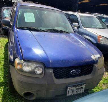 2006 Ford Escape for sale at Ody's Autos in Houston TX