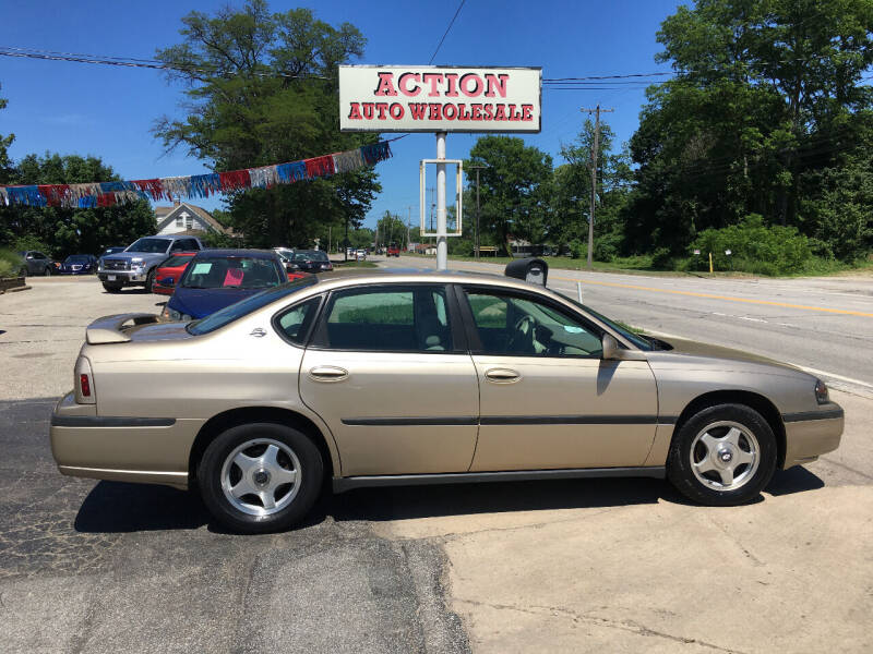 2004 Chevrolet Impala for sale at Action Auto Wholesale in Painesville OH