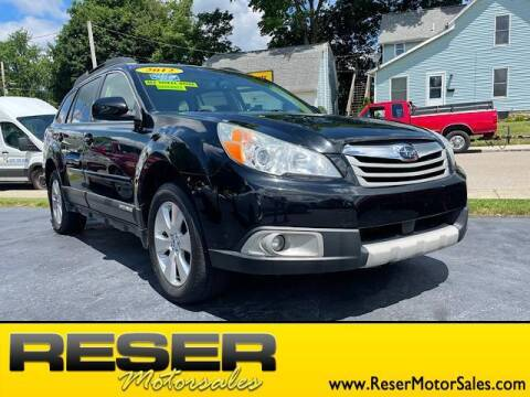 2012 Subaru Outback for sale at Reser Motorsales in Urbana OH