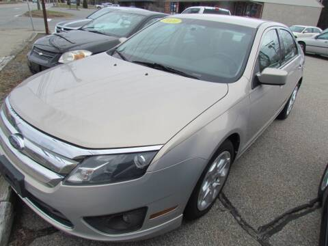 2010 Ford Fusion for sale at Portsmouth Auto Sales & Repair in Portsmouth RI
