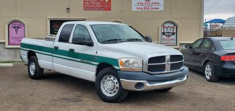 2006 Dodge Ram Pickup 2500 for sale at BAC Motors in Weslaco TX