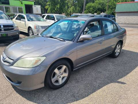 2005 Honda Civic for sale at Johnny's Motor Cars in Toledo OH