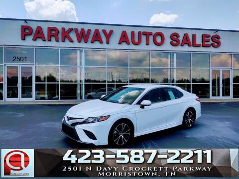 2018 Toyota Camry for sale at Parkway Auto Sales, Inc. in Morristown TN