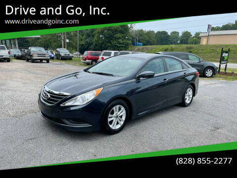 2014 Hyundai Sonata for sale at Drive and Go, Inc. in Hickory NC