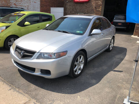 2005 Acura TSX for sale at STEEL TOWN PRE OWNED AUTO SALES in Weirton WV