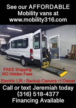 2019 Ford Transit Passenger for sale at Affordable Mobility Solutions, LLC - Mobility/Wheelchair Accessible Inventory-Wichita in Wichita KS
