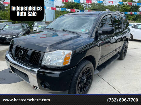 2007 Nissan Armada for sale at Independence Auto Sale in Bordentown NJ