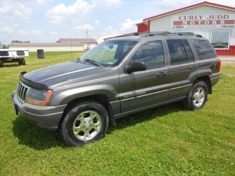 2000 Jeep Grand Cherokee for sale at JUDD MOTORS INC in Lancaster MO
