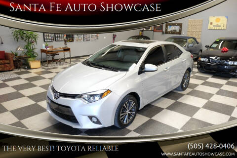 2016 Toyota Corolla for sale at Santa Fe Auto Showcase in Santa Fe NM