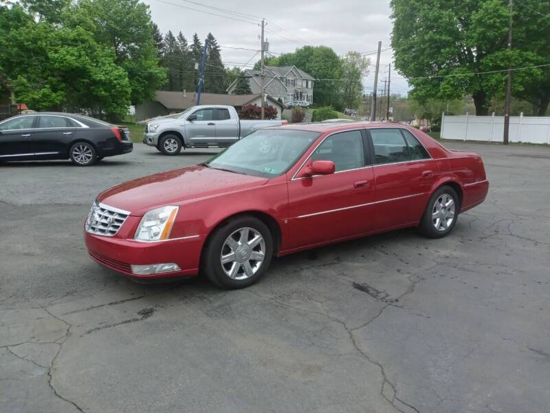 2006 Cadillac DTS for sale at Petillo Motors in Old Forge PA