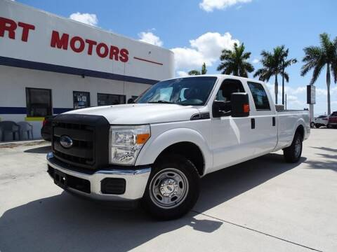 2016 Ford F-250 Super Duty for sale at Port Motors in West Palm Beach FL