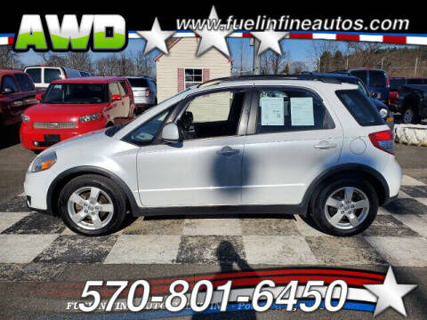 2012 Suzuki SX4 Crossover for sale at FUELIN FINE AUTO SALES INC in Saylorsburg PA