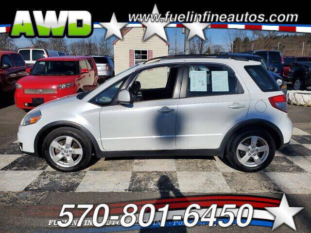 2012 Suzuki SX4 Crossover for sale at FUELIN FINE AUTO SALES INC in Saylorsburg PA