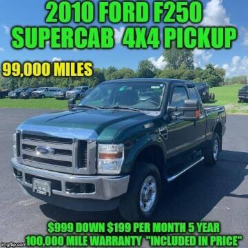 2010 Ford F-250 Super Duty for sale at D&D Auto Sales, LLC in Rowley MA