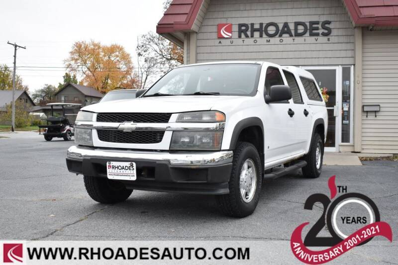 2006 Chevrolet Colorado for sale at Rhoades Automotive in Columbia City IN