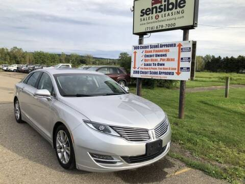 2013 Lincoln MKZ for sale at Sensible Sales & Leasing in Fredonia NY