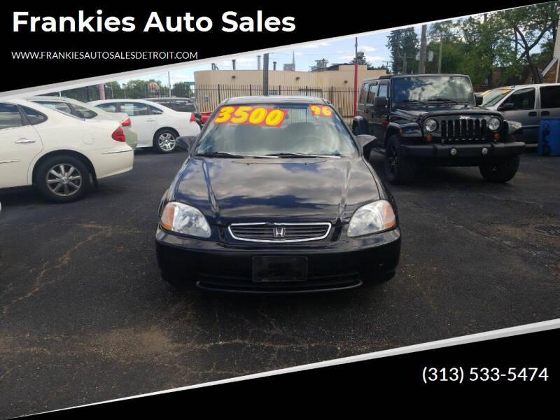 1996 Honda Civic for sale at Frankies Auto Sales in Detroit MI