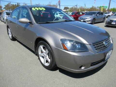 2005 Nissan Altima for sale at Tonys Toys and Trucks in Santa Rosa CA