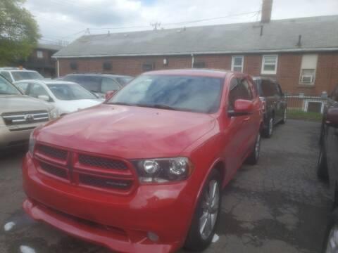 2011 Dodge Durango for sale at J & J Used Cars inc in Wayne MI