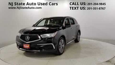 2017 Acura MDX for sale at NJ State Auto Auction in Jersey City NJ