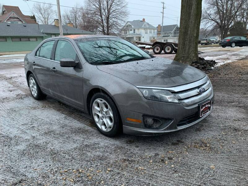 2010 Ford Fusion for sale at BROTHERS AUTO SALES in Hampton IA