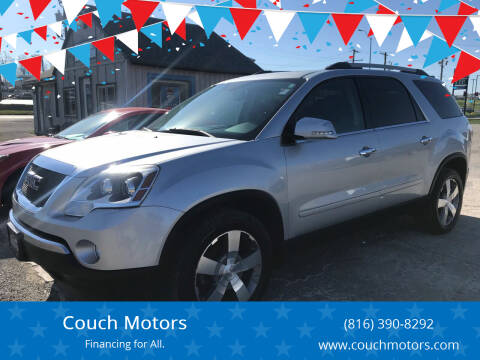 2011 GMC Acadia for sale at Couch Motors in Saint Joseph MO