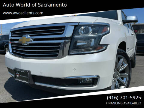 2016 Chevrolet Tahoe for sale at Auto World of Sacramento Stockton Blvd in Sacramento CA