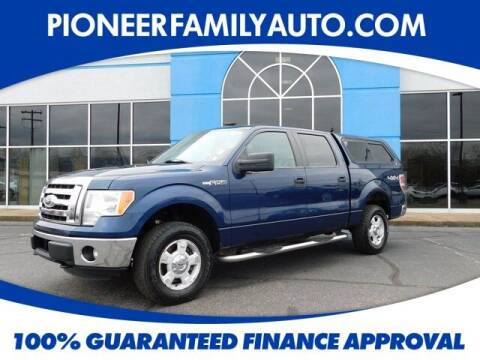 2011 Ford F-150 for sale at Pioneer Family auto in Marietta OH